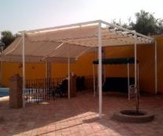 Terraza palillería: Productos de Toldos Zamorano