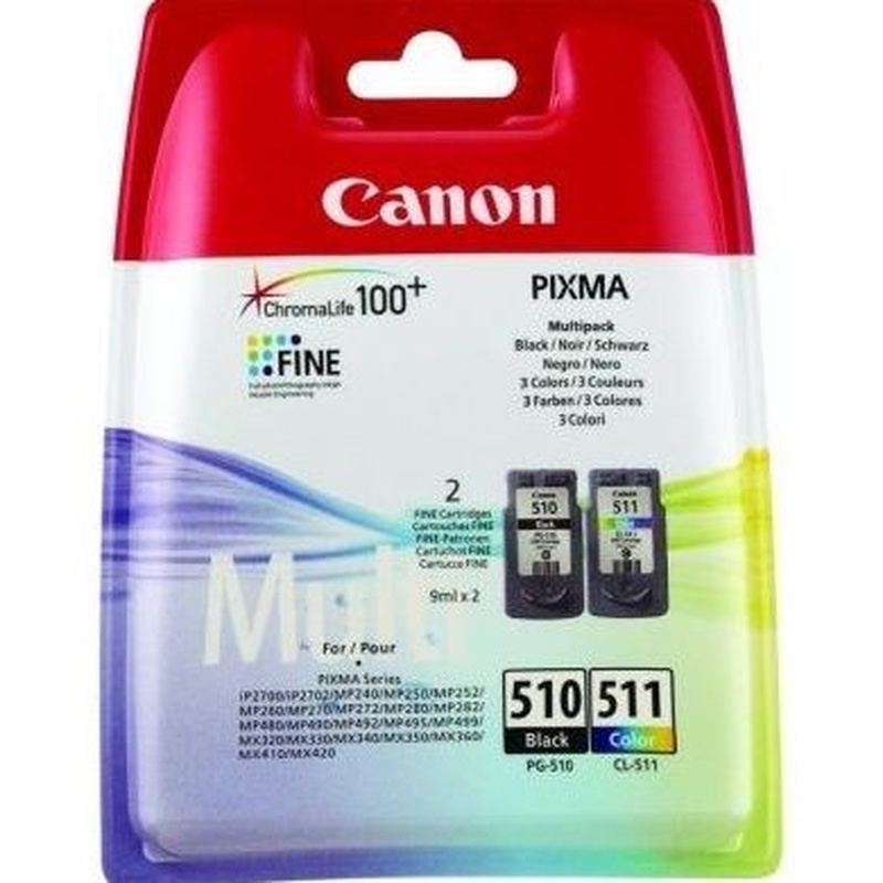 CANON Cartucho MultiPack PG-510/CL511 : Productos y Servicios de Stylepc