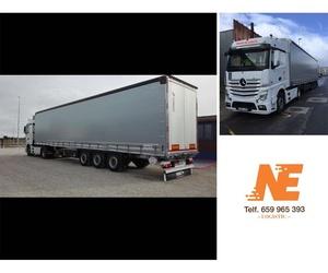 Empresa de transporte de mercancías por carretera en Zaragoza