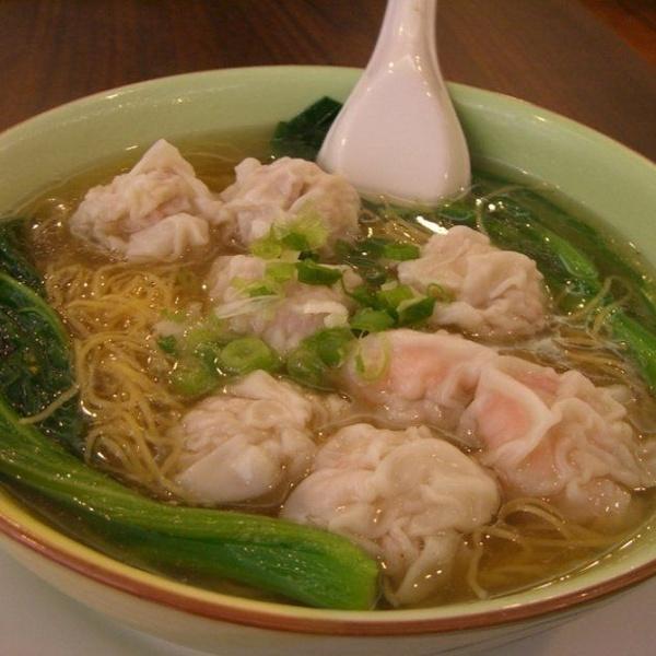 Un clásico de la comida china: la sopa de wan tun
