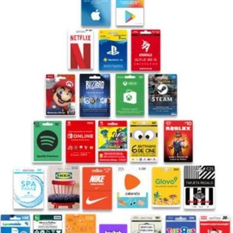 Tarjetas para contenidos digitales: Servicios de Estanco Buenavista 45