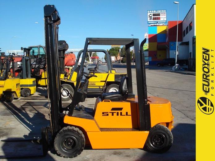 Carretilla diesel STILL Nº 5910: Productos y servicios de Comercial Euroyen, S. L.