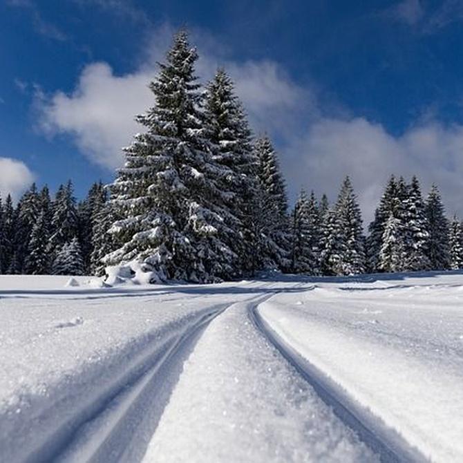Cadenas de nieve textiles