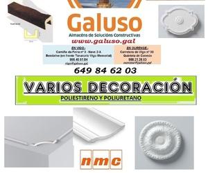 TARIFA 2020 - VARIOS DECORACION