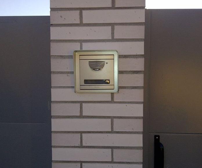 Instalación portero electrónico