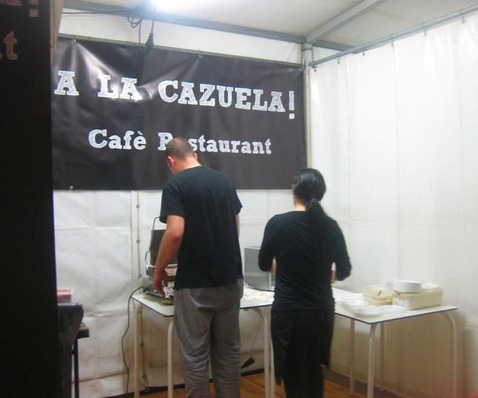 Stand A la Cazuela en acción!!!