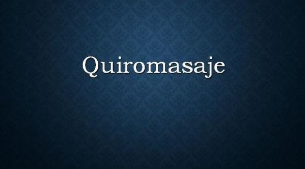 Quiromasaje: Servicios de HI STILO
