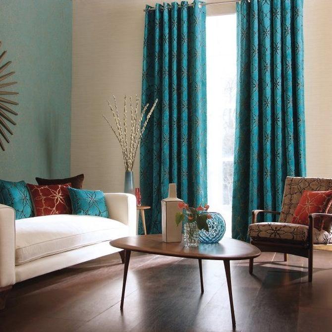 Las cortinas, más que un elemento decorativo