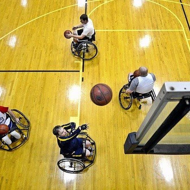 El deporte desde una silla de ruedas