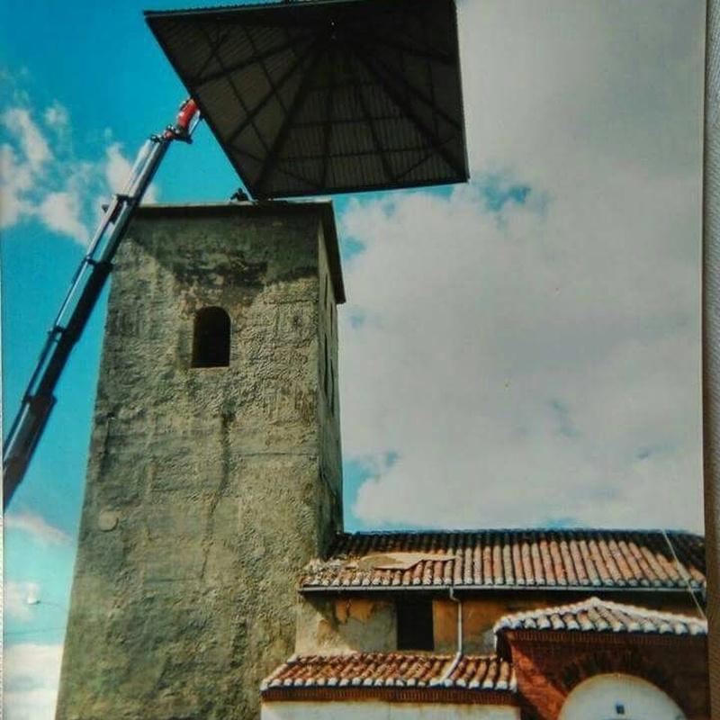 Trabajos de altura: Servicios de Grúas Joni