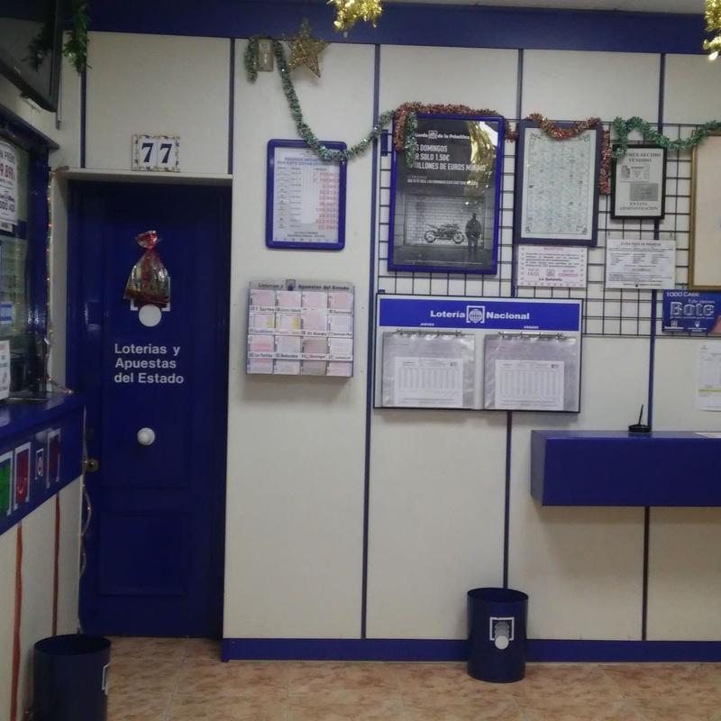 Bonoloto: Servicios de Administración de Lotería Nº 77 La Valvanera