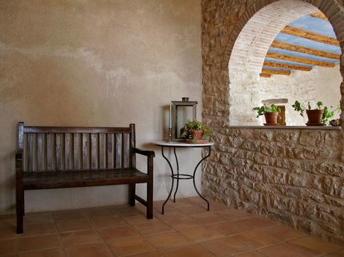 Terraza de una de las habitaciones