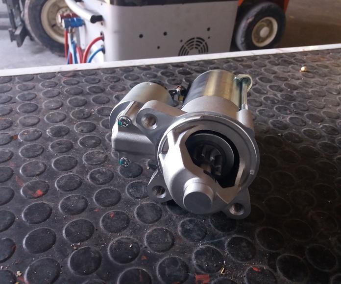 Motores de arranque: Servicios de BrotonAuto