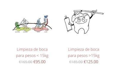 NUEVOS PRECIOS LIMPIEZA DE BOCA