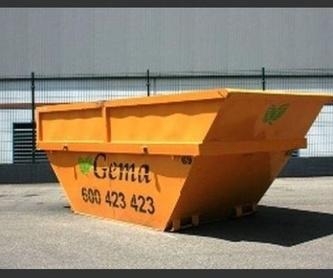 Transportista autorizado sandach categoría 2: Catálogo de Contenedores Gema