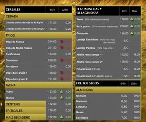 Lonja de Albacete 04.07.19 Cereales & Almendra