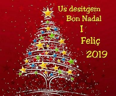 Bon Nadal i Feliç Any 2019