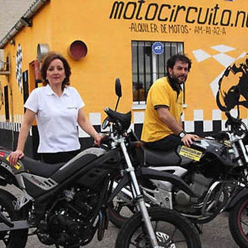 Motocircuito, disponemos de motos con diversas características para tus prácticas