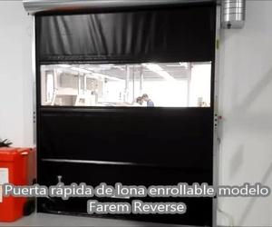 Puerta rápida de lona enrollable Farem Reverse