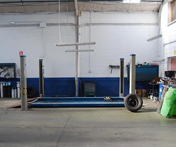 Instalaciones de nuestra empresa de ambulancias en Huelva