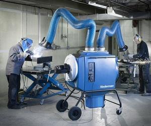 Filter box TWIN 2 brazos máxima eficiencia humo y polvo