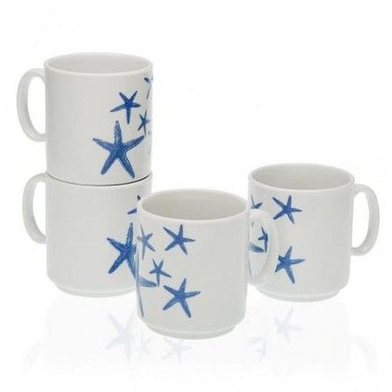 juego mugs Blue Sea: Tienda online  de COSCO, S.L.