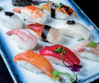 Menús degustación: Carta de Restaurante Kyoto