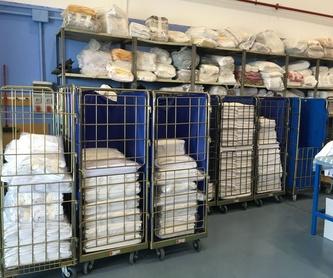 Planchado: Servicio lavandería industrial de Lavandería Industrial Robila