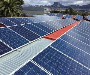 Fotovoltaica aislada en Fabrica de Zapatos en Elda