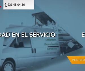 Empresa de desatascos en Ávila | Defolim, S.L.