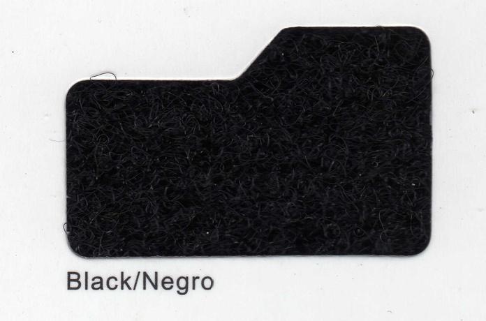 Cinta de cierre adhesiva Velcro-Veraco 20mm Negra (Rizo).