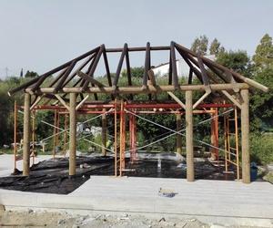 Proceso de construcción de pérgolas en Málaga