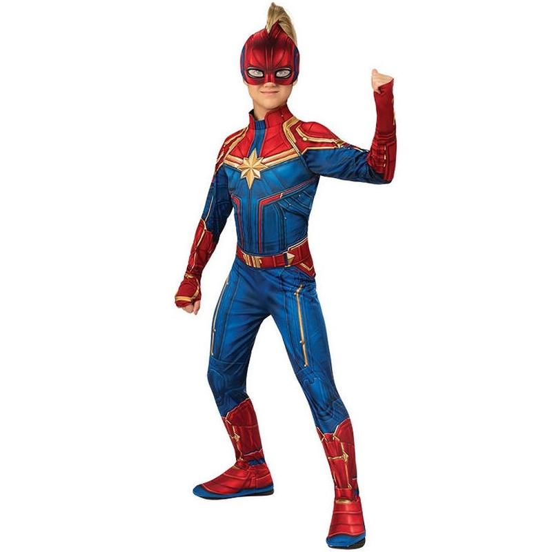 Disfraz Capitana Marvel infantil