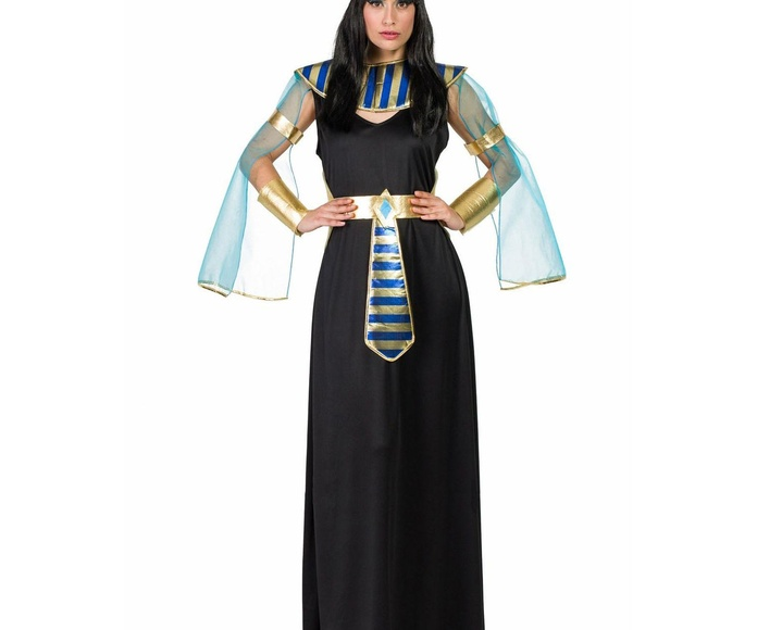 Disfraz egipcia negro