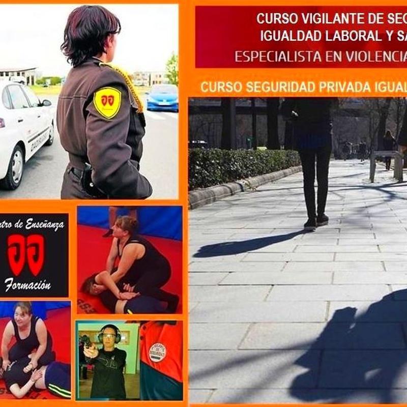 Vigilante de Seguridad: Cursos de Centro de Enseñanza J. J. Formación