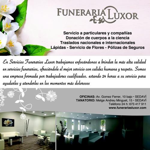 Funerarias en Valencia | Luxor