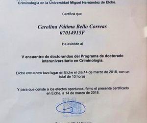 V encuentro de Doctorandos en Crímina (UMH)