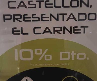 Oferta especial socios del Castellón