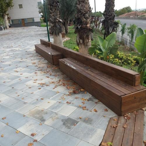 Bancos para jardines