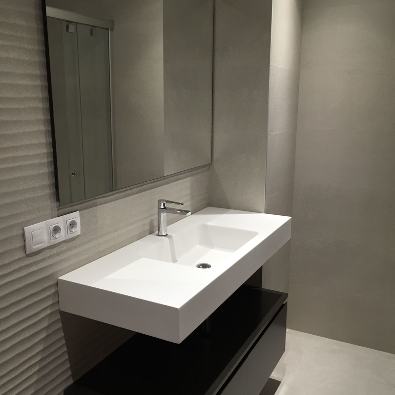 Reforma baño C/Pintor Berafajardo