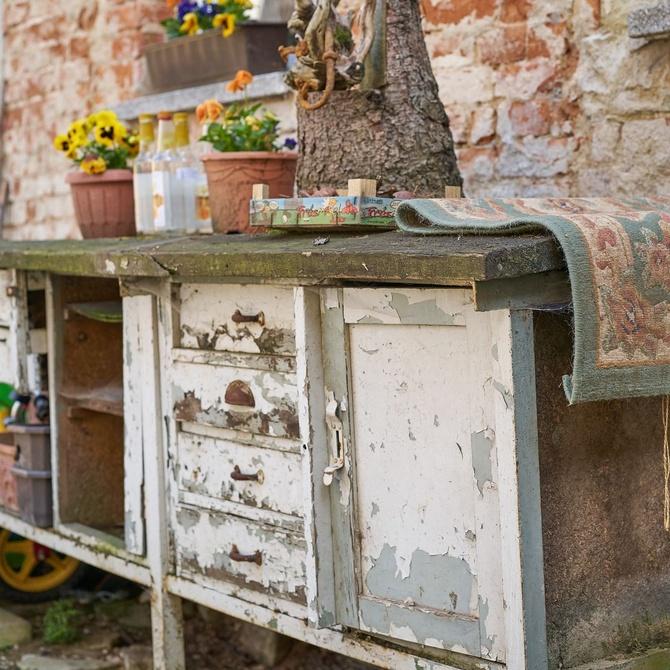 Muebles de segunda mano, alternativa al medio ambiente