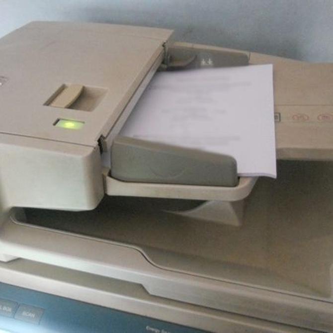 ¿Cómo fue la primera fotocopiadora?