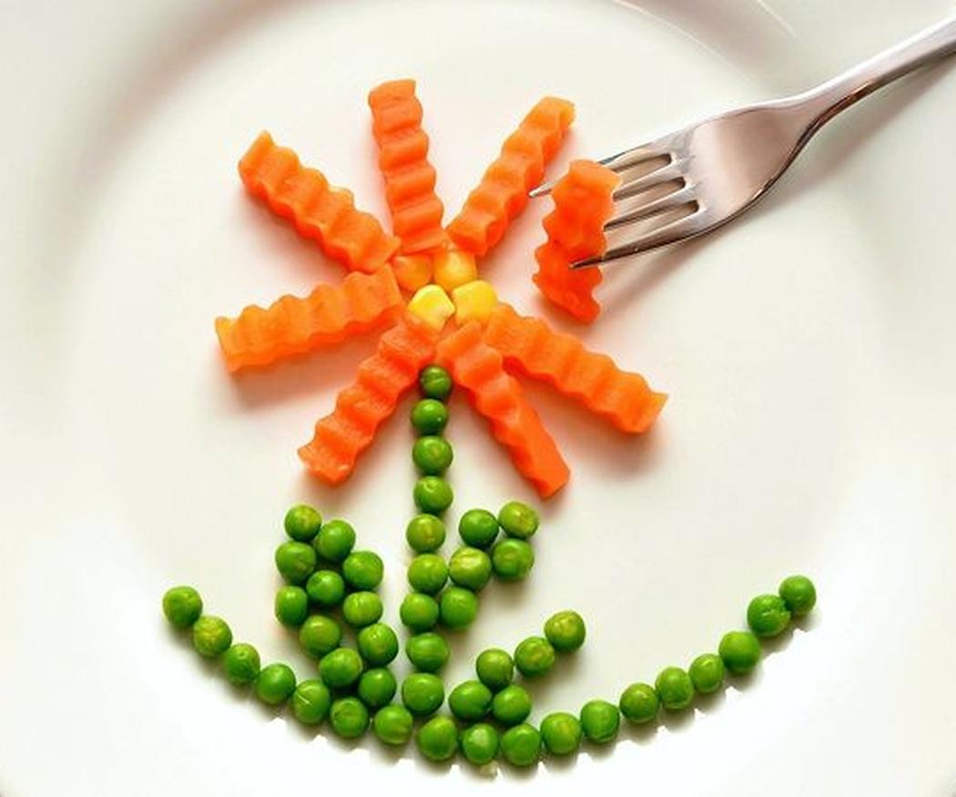 ¿Cómo combinar la zanahoria?