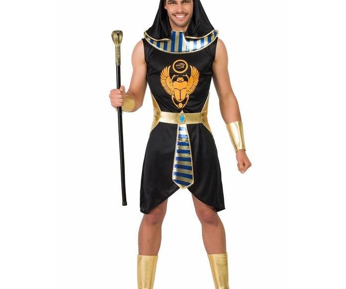 Disfraz egipcio negro