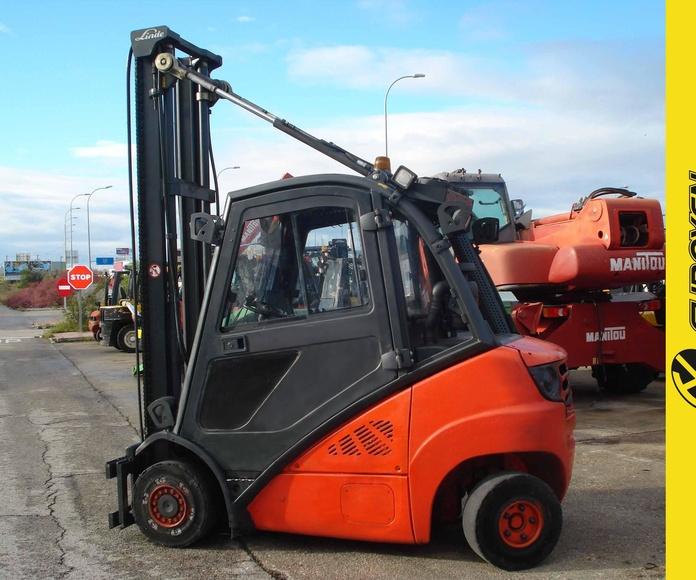 Carretilla diesel LINDE Nº 6079: Productos y servicios of Comercial Euroyen, S. L.