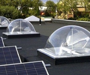 Claraboyas inteligentes para ahorrar energía