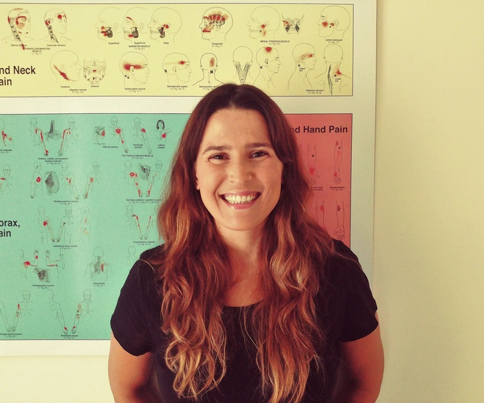 Marta Quintero Rodríguez, Fisioterapeuta y osteopata