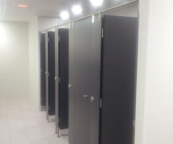Cabinas sanitarias ambientes secos.