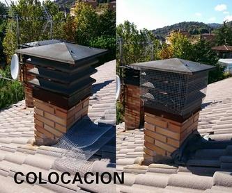 Limpieza de chimeneas y estufas de leña : Productos y servicios de Deshollinadores Sierra Norte