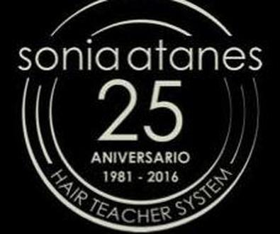 Sonia Atanes peluqueria 25 años
